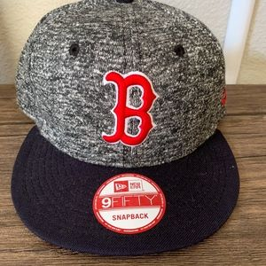 Boston Red Sox 9 Fifty Snapback Hat